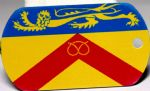 Staffordshire County Flag Tag